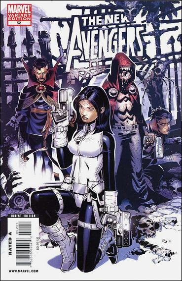 New Avengers (2005) 52-B by Marvel