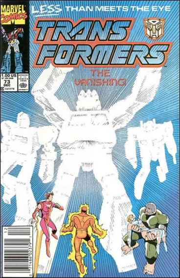 Transformers (1984) 73-A by Marvel