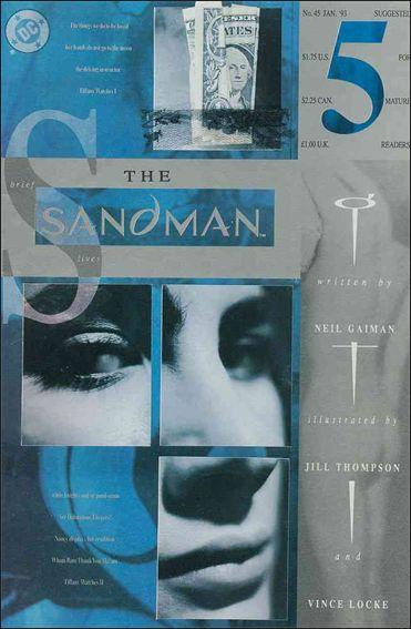Sandman (1989) 45-A by Vertigo