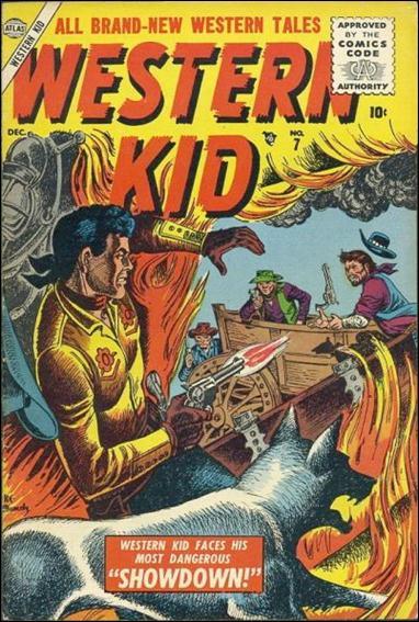 Western Kid (1954) 7-A by Atlas