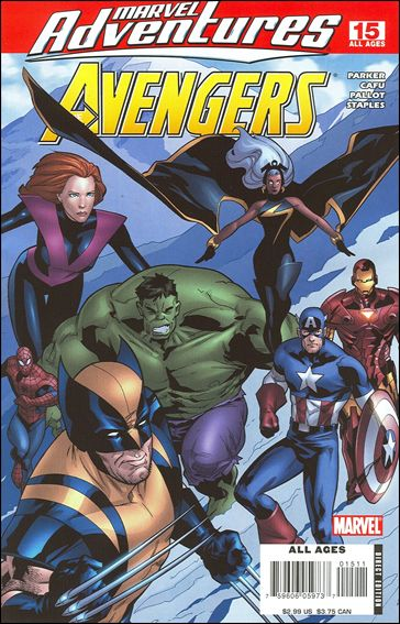Marvel Adventures The Avengers 15-A by Marvel