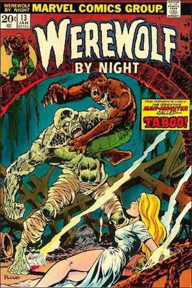 Werewolf by Night (1972) 13-A by Marvel