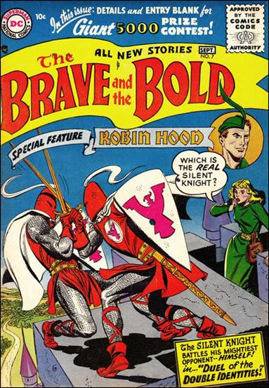 Brave and the Bold (1955) 7-A by DC