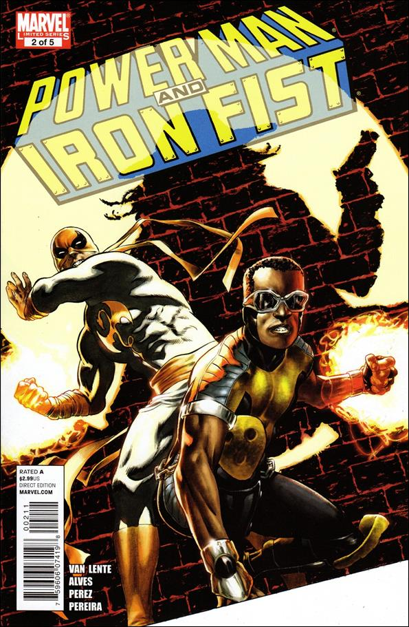 Power Man and Iron Fist (2011) 2-A by Marvel