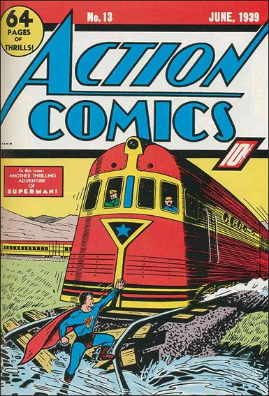 Action Comics (1938) 13-A by DC