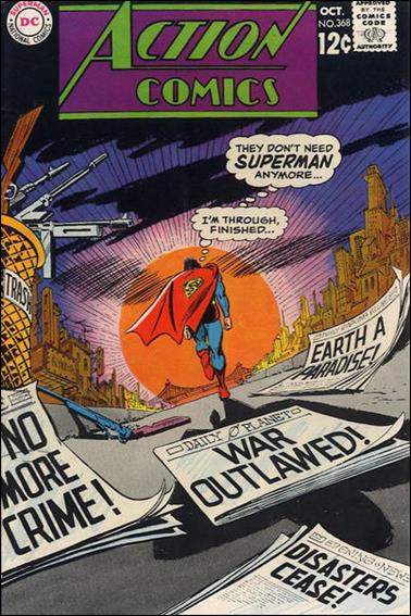 Action Comics (1938) 368-A by DC
