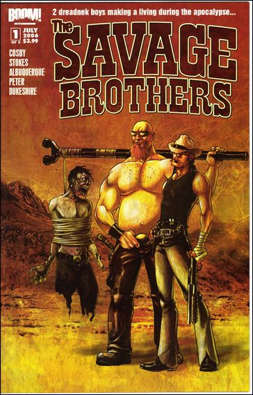 Savage Brothers 1-A by Boom! Studios