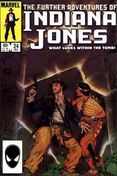 Further Adventures of Indiana Jones 24-A by Marvel