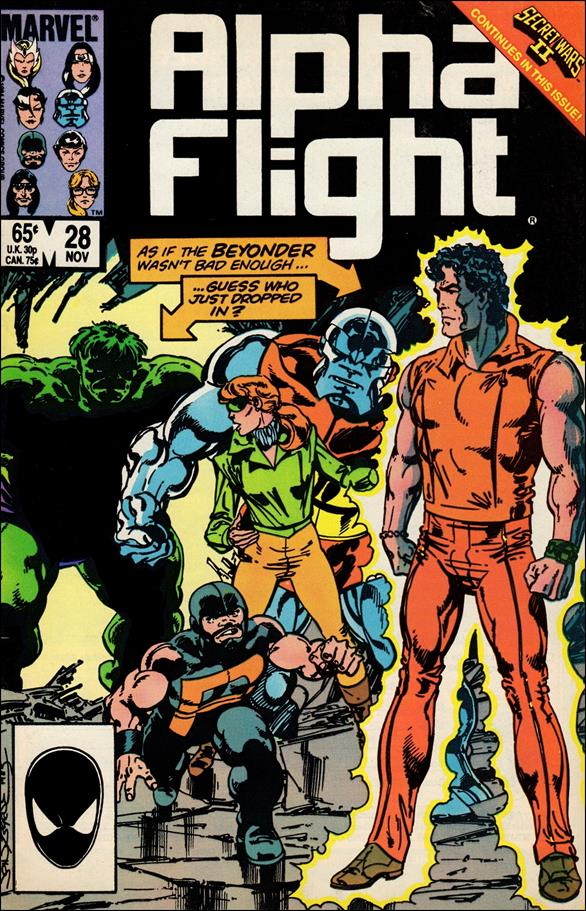 Alpha Flight (1983) 28-A by Marvel
