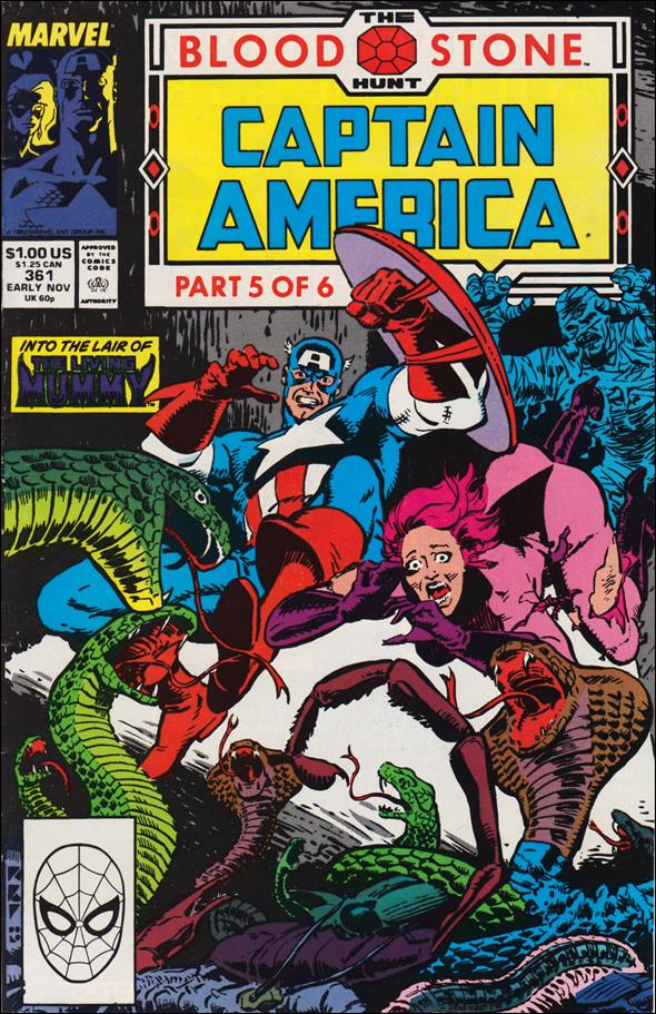 Captain America (1968) 361-A by Marvel