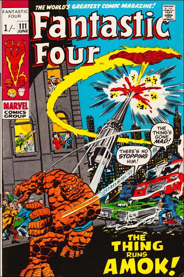 Fantastic Four (1961) 111-B by Marvel