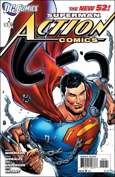 Action Comics (2011) 2-B by DC