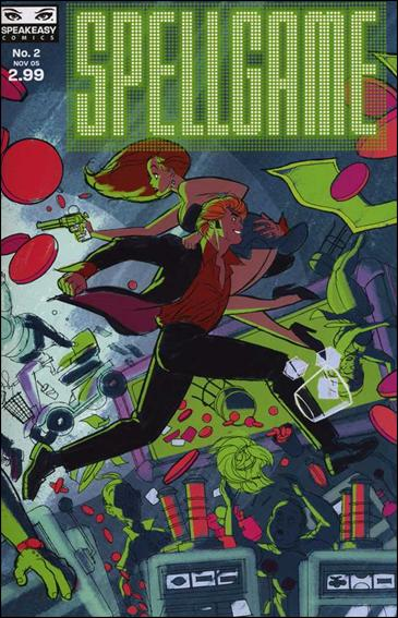 Spellgame 2-A by Speakeasy Comics