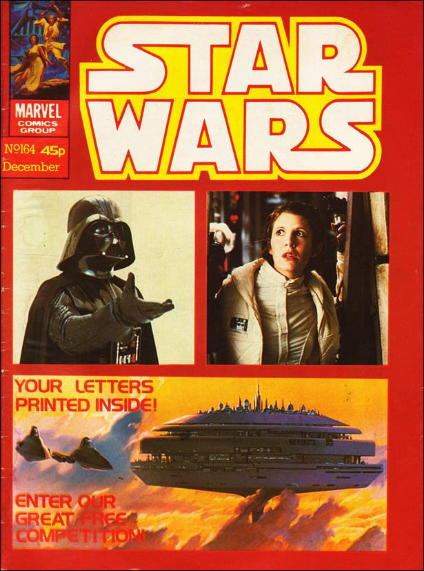 Star Wars Weekly (UK) 164-A by Marvel UK