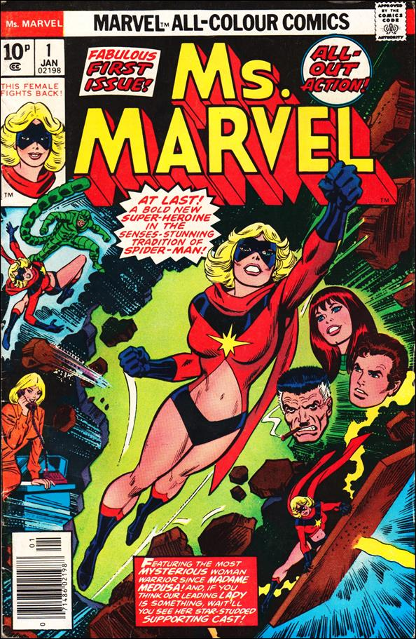 Ms. Marvel (1977) 1-B by Marvel