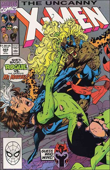 Uncanny X-Men (1981) 269-A by Marvel