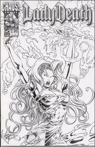 Lady Death (1997) 5-B by Chaos! Comics