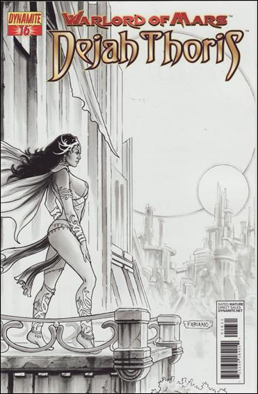 Warlord of Mars: Dejah Thoris 16-D by Dynamite Entertainment