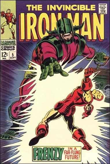 Iron Man (1968) 5-A by Marvel