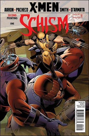 X-Men: Schism 1-F by Marvel