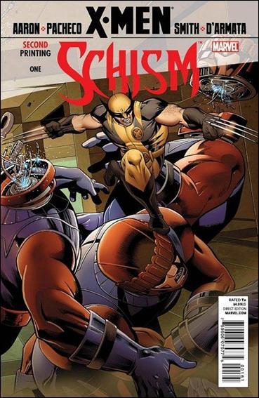 X-Men: Schism 1-F by Marvel