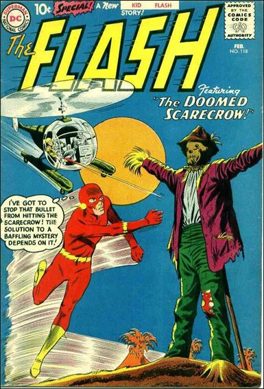 Flash (1959) 118-A by DC