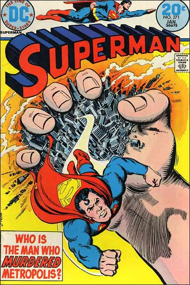 Superman (1939) 271-A by DC
