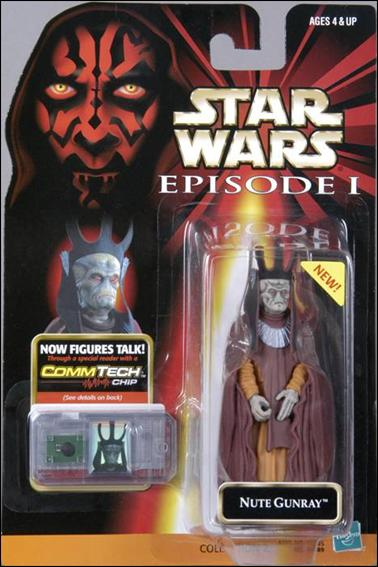 "Star Wars: Episode I 3 3/4"" Basic Action Figures Nute Gunray (New Sticker) by Hasbro"