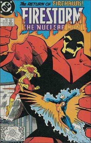 Firestorm The Nuclear Man (1987) 76-A