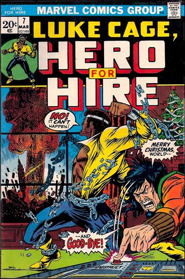 Hero for Hire 7-A by Marvel