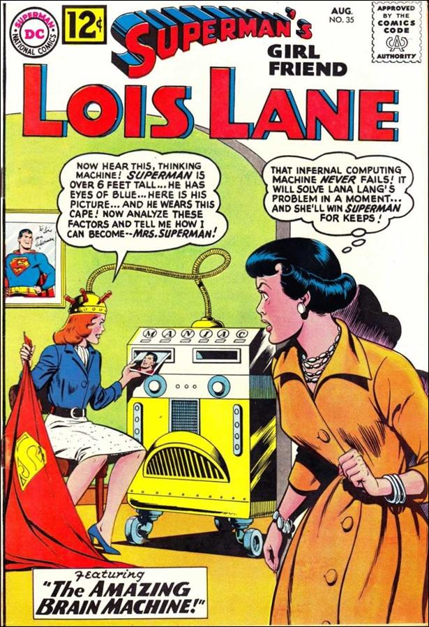 Superman's Girl Friend Lois Lane 35-A by DC