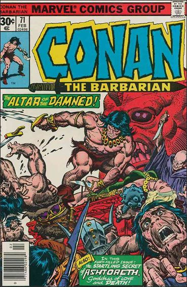 Conan the Barbarian (1970) 71-A by Marvel