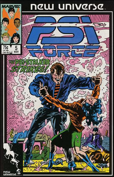 Psi-Force 5-A by Marvel