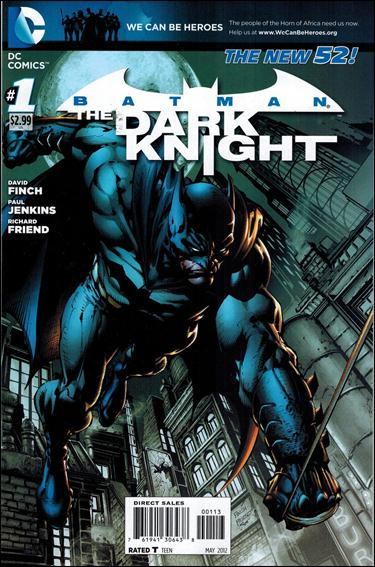 Batman: The Dark Knight (2011/11) 1-C by DC
