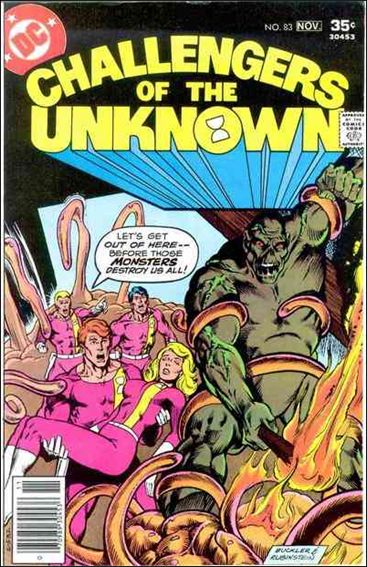 Challengers of the Unknown (1958) 83-A by DC