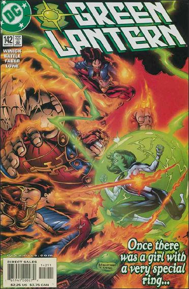 Green Lantern (1990) 142-A by DC