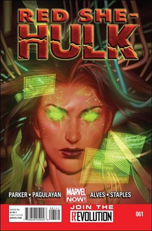 Red She-Hulk 61-A