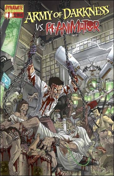 Army of Darkness vs Re-Animator 1-A by Dynamite Entertainment