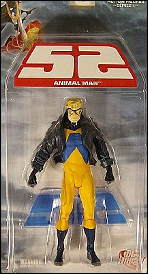 52 (Series 1) Animal Man by DC Direct