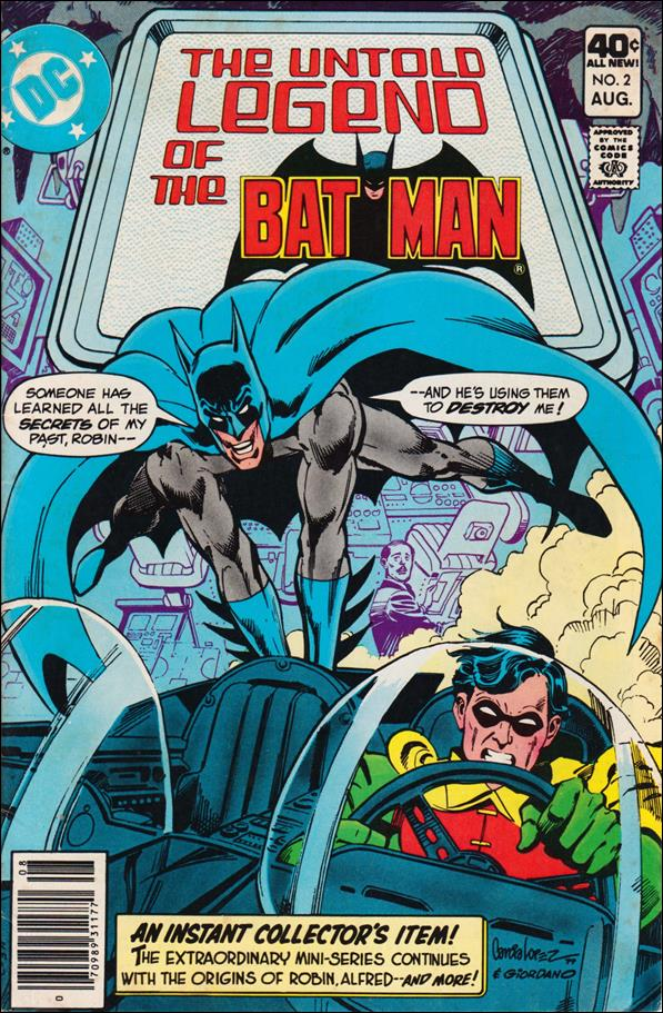 Untold Legend of the Batman 2-A by DC