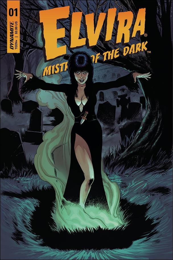 Elvira, Mistress of the Dark (2018) 1-D by Dynamite Entertainment