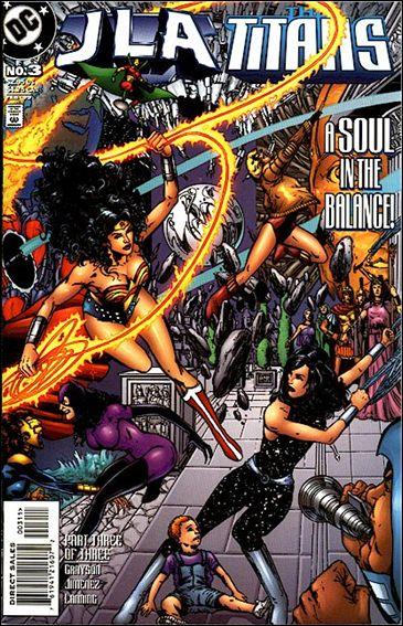 JLA/Titans 3-A by DC