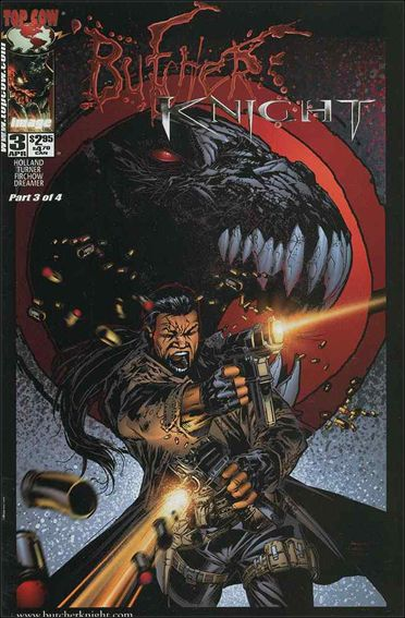 Butcher Knight 3-A by Top Cow