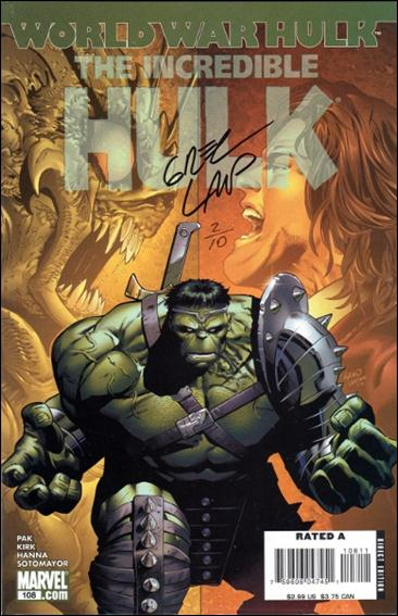 Incredible Hulk (2000)  108-C by Marvel