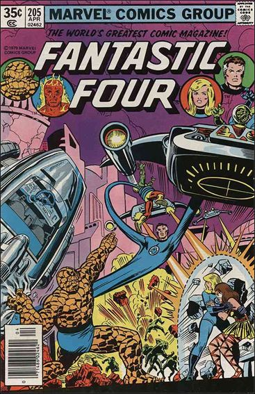 Fantastic Four (1961) 205-A by Marvel