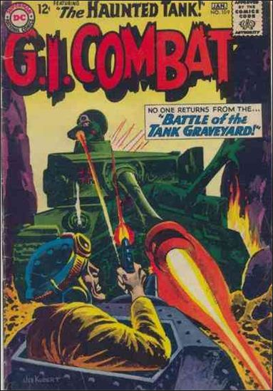 G.I. Combat (1952) 109-A by DC