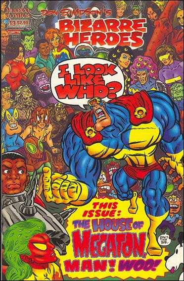 Don Simpson's Bizarre Heroes 13-A by Fiasco Comics