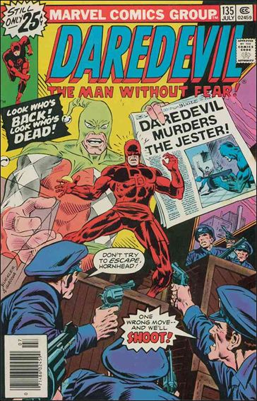 Daredevil (1964) 135-A by Marvel