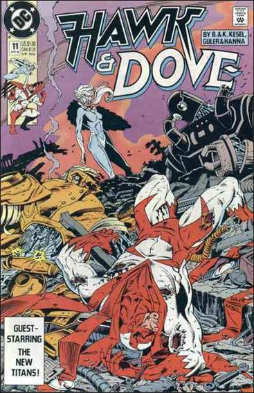 Hawk and Dove (1989) 11-A by DC