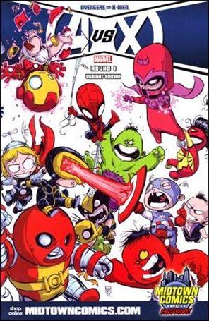 Avengers vs X-Men 1-J
